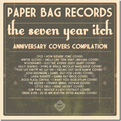 The Seven Year Itch - Paper Bag Records Covers Compilation