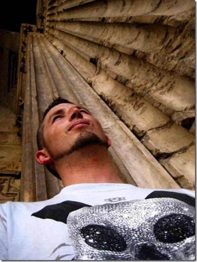 Tommy Lexxus pantheon rome italy